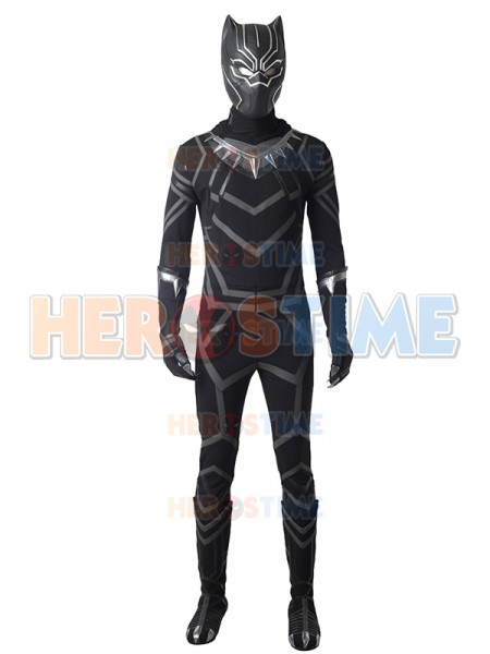 Black Panther 2018 Film Versiom Deluxe Cosplay Costume
