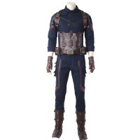 Captain America Avengers Infinity War Version Cosplay Costume
