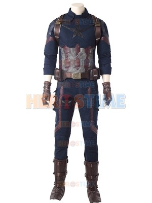 Captain America Avengers Infinity War Version Cosplay Costume