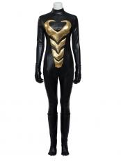 Marvel Comics Wasp Black Superhero Cosplay Costume
