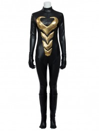 Marvel Comics Wasp Black Superhero Cosplay Costume