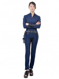 S.H.I.E.L.D. Maria Hill Female Superhero Cosplay Costume