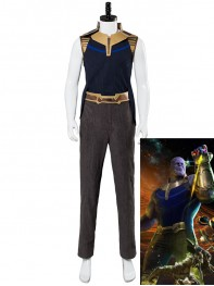Thanos Costume Avengers Infinity War Version Cosplay Costume