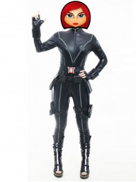 The Avengers Black Widow Women Superhero Cosplay Costume