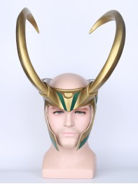 The Avengers: Loki Film Version Cosplay PVC Helmet
