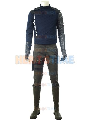 Winter Soldier Costume Avengers Infinity War Version Deluxe Costume