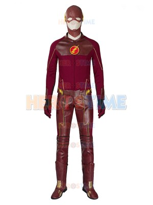 The Flash Season 1 Deluxe Mens Superhero Cosplay Costume
