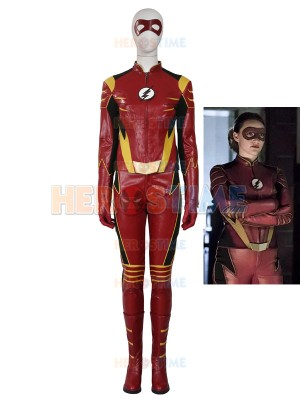 The Flash Season 3 Jesse Quick Female Superhero Costume