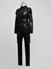 The Hunger Games 3 Katniss Everdeen Black Cosplay Costume