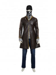 Watch Dogs Aiden Pearce Game Character Cosplay Costume
