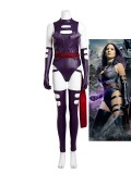 X-Men: Apocalypse Psylocke Female Cosplay Costume