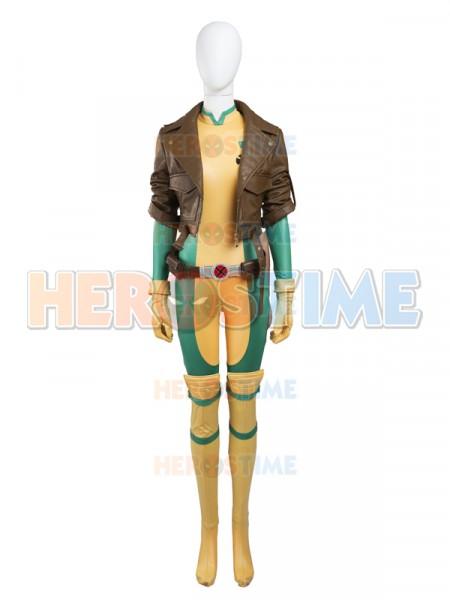 X-men Rogue Cosplay Superhero Costume