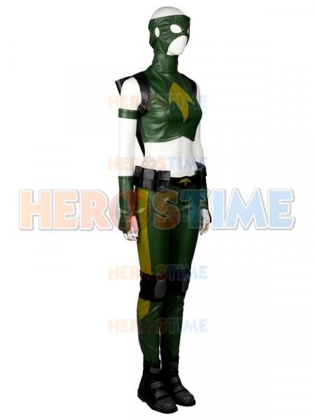 artemis costume dc. justice artemis female superhero cospay costume - halloween dc c