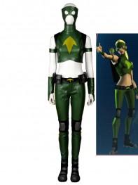 Young Justice Artemis Female Superhero Cospay Costume