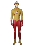 Young Justice Kid Flash Deluxe Superhero Cosplay Costume