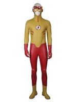 Young Justice Kid Flash Deluxe Superhero Cosplay Costume