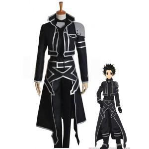 Hot!Sword Art Online Kirito Cosplay Costume COS !AS