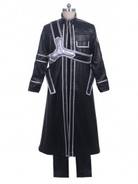 Sword Art Online Kirigaya Kazuto Boys Cosplay Costume