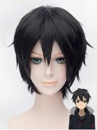 Sword Art Online Kirito Black Short Coslay Wig