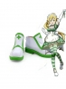Sword Art Online Leafa White Short Cosplay Boots