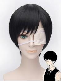 Tokyo Ghoul Ken Kaneki Black Cosplay Wig