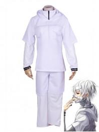 Tokyo Ghoul Ken Kaneki White Battle Cosplay Costume