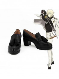 Touken Ranbu Online Higekiri Black High Shoes