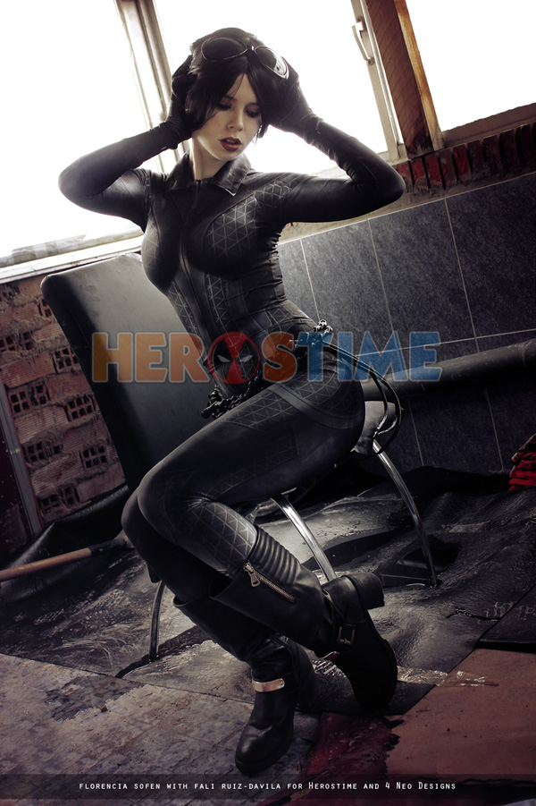 Jillian catwoman costume