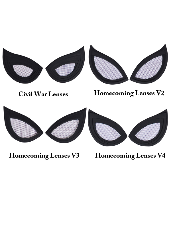 spider-man homecoming lenses