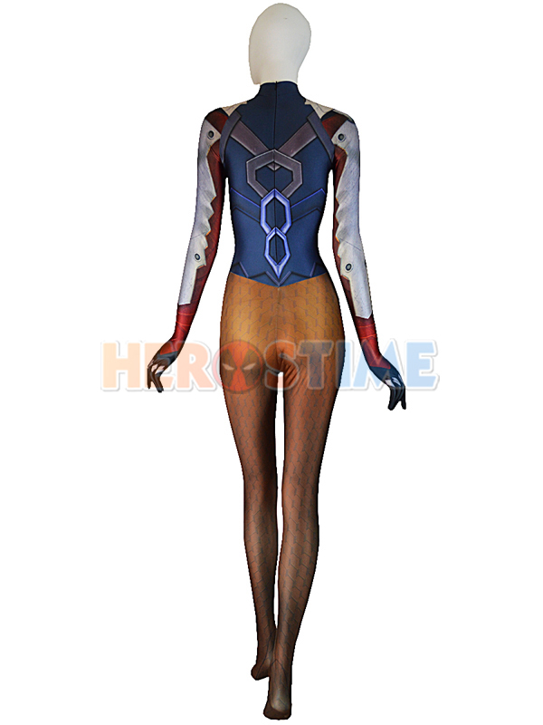 Mercy Costume Overwatch Mercy Undersuit Girl Cosplay Suit
