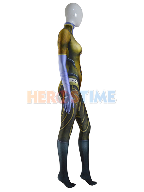 Overwatch Widowmaker Costume Patina Skin Cosplay Suit