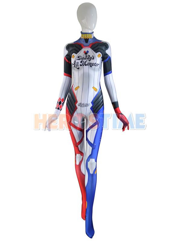 Harley D.VA Costume Overwatch Harley Skin D.Va Cosplay Suit