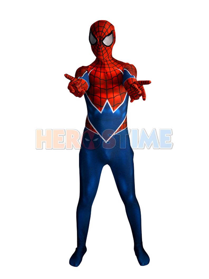 spider punk costume 3d printing punk rock spider man costume