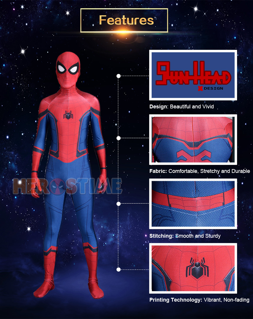 Homecoming Spider-Man Costume