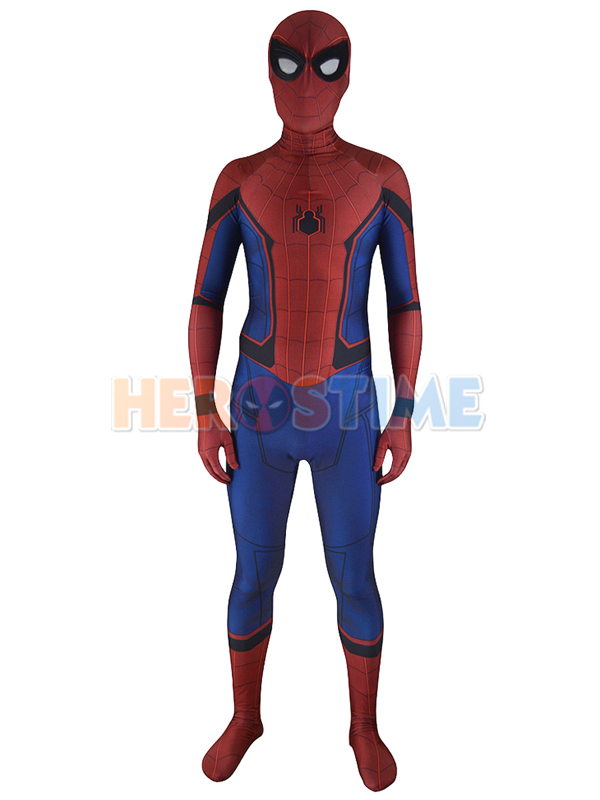 Spider-Man Homecoming Costume 3D Printed Cosplay Suit