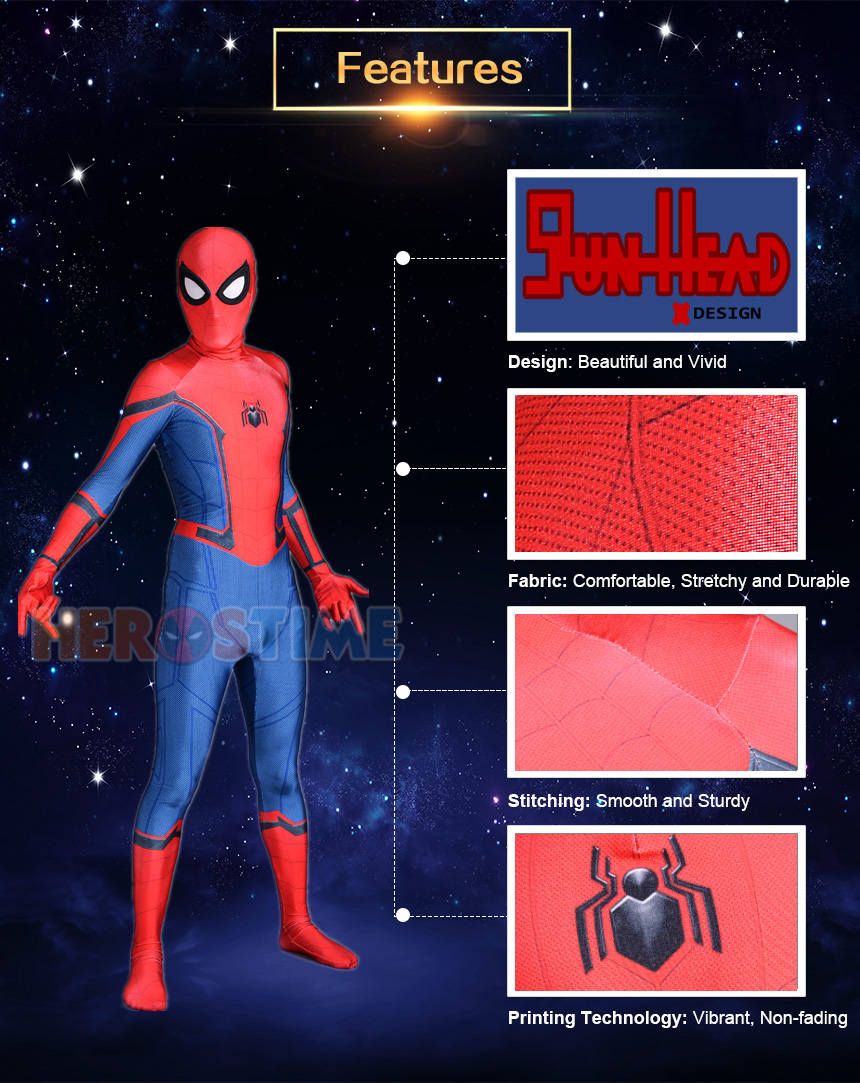 Homecoming Iron Spider-Man Costume