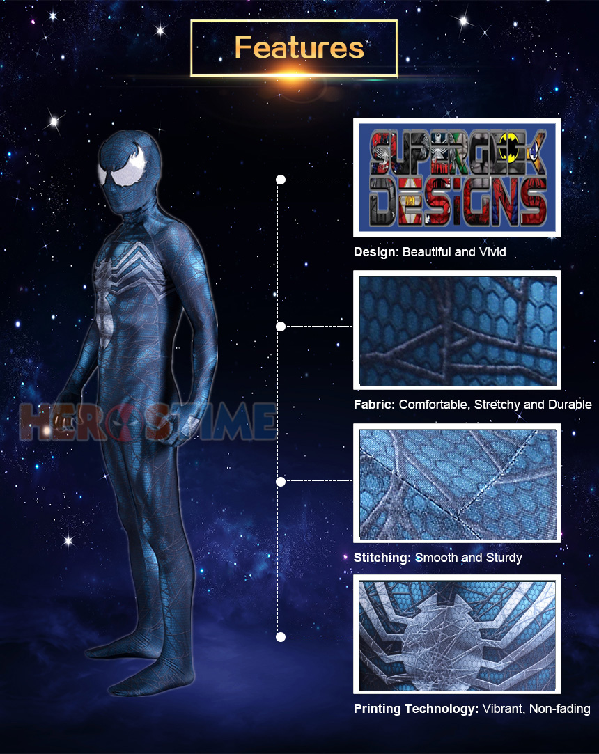 Symbiote Spiderman Suit