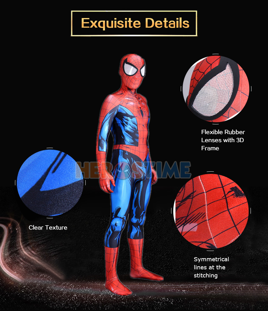 Ultimate Spiderman Costume