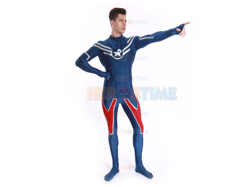 Shield Star Captain America Costume-2