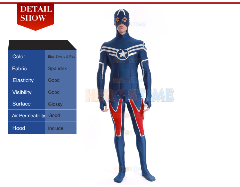 Shield Star Captain America Costume-4