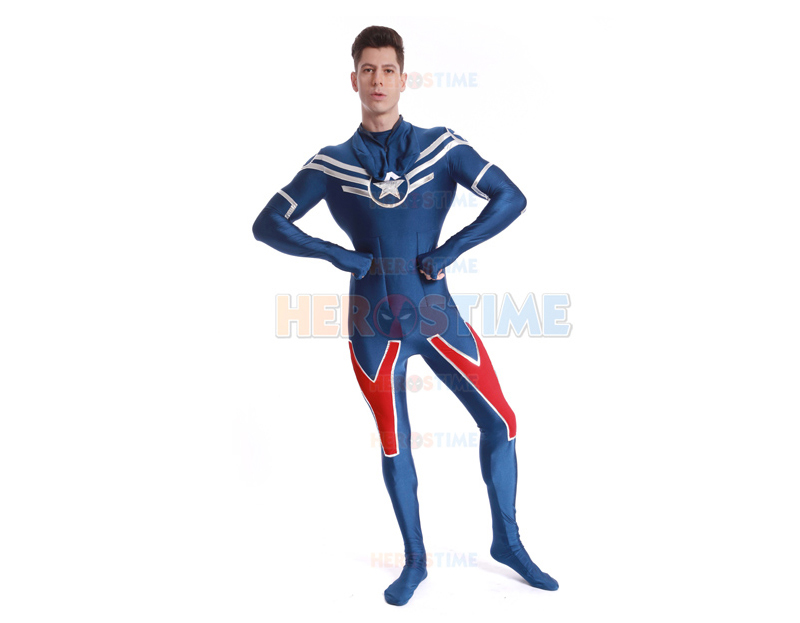 Shield Star Captain America Costume-7
