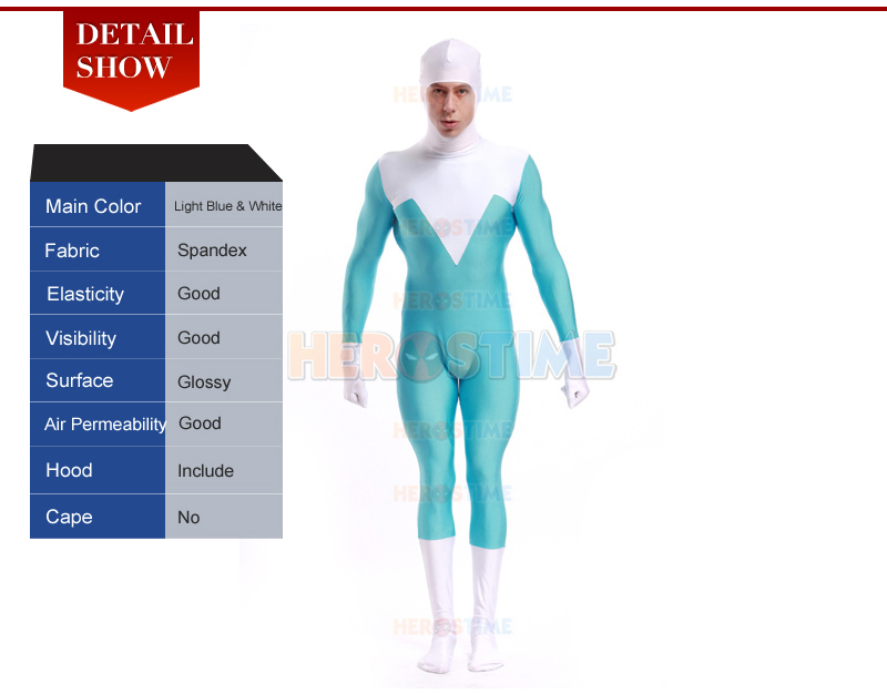 The Incredibles Frozone Costume Frozone Supersuit-6