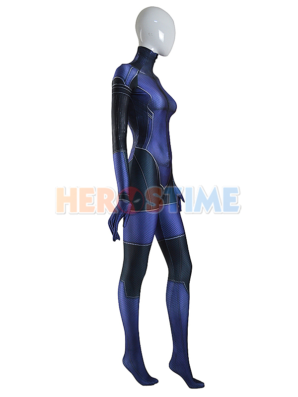 Jill Valentine Costume Resident Evil Girl Cosplay Suit