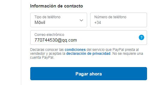 """click """"Pagar ahora"""" link"""