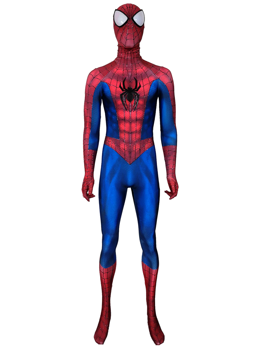 Fear Itself PS4 Spider-Man Costume Halloween Cosplay Suit 3D Printed