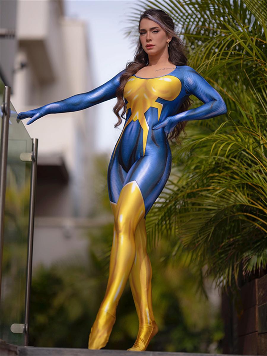 2018 Newest Female Venom Printing Cosplay Costume