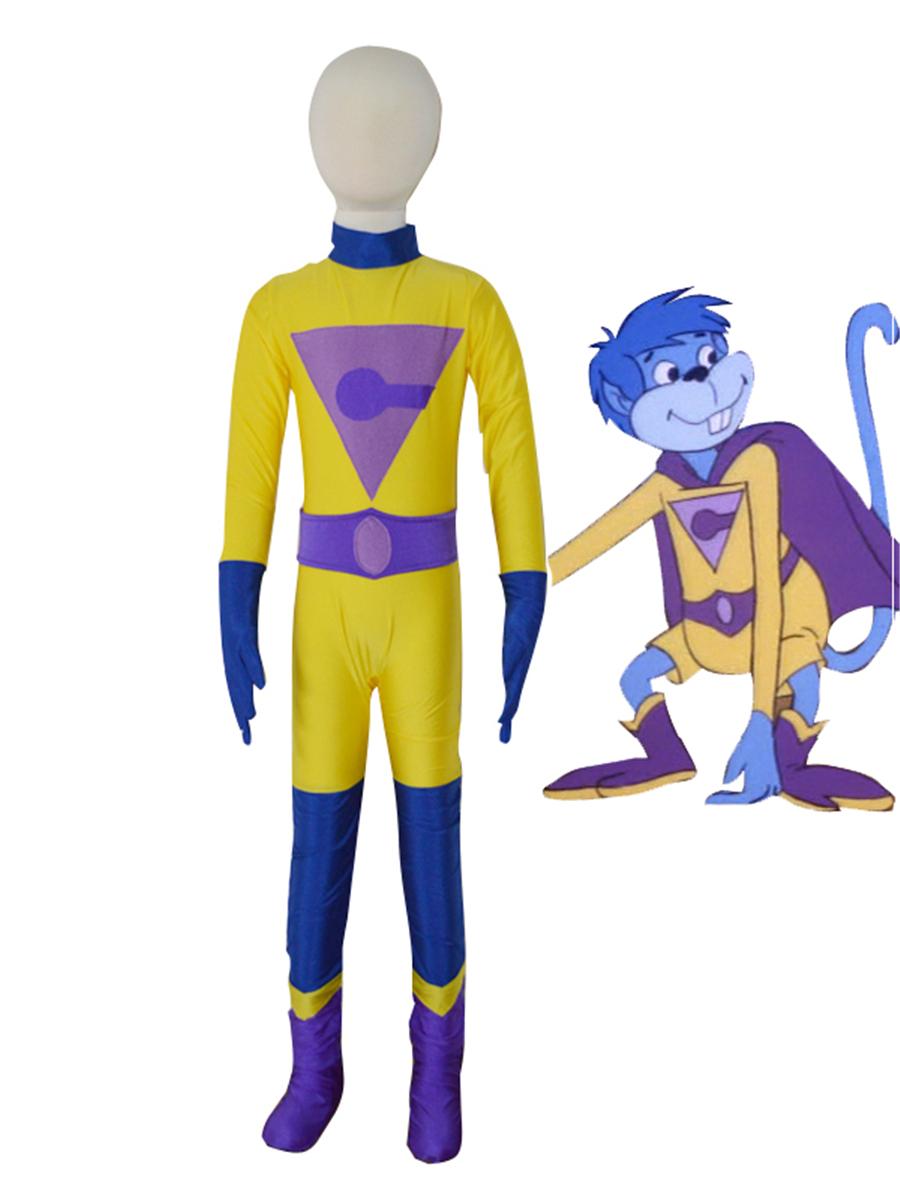 Kids Captain-Marvel Costume Kid Halloween Costume