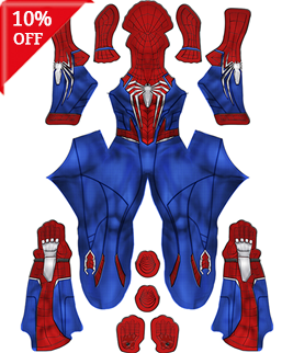 Spider-Man: Into the Spider-Verse Peter Parker ISV Superhero Costume